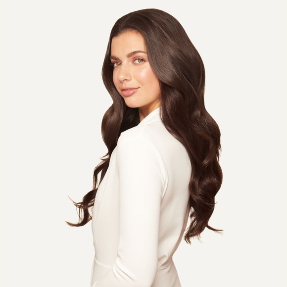 """20"""" Seamless Chocolate Brown Clip-Ins"""